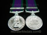 MINIATURE GENERAL SERVICE MEDAL (GSM) WITH NORTHERN IRELAND CLASP
